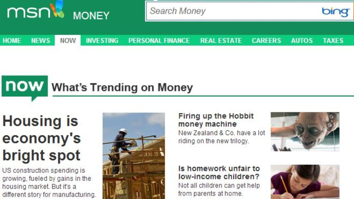 Microsoft Launches Msn Moneynow Service Stocktwits is the largest social network for finance. thewindowsclub news