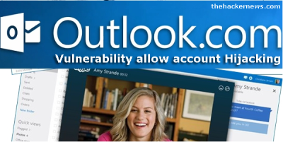 Outllok 400x201 Hotmail & Outlook can be hijacked using Cookie Handling Vulnerability