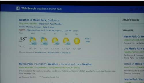 bing with graph search