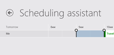 Windows 8 Calendar app 2