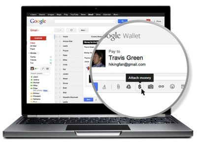 Google wallet with gmail