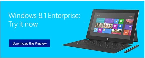 Windows 8.1 Enterprise Edition Preview