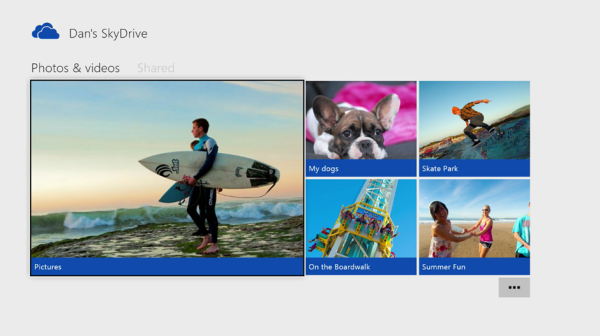 Xbox Skydrive unfication