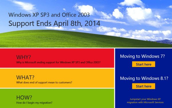 migrate from Windows XP