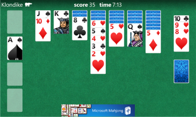 Solitaire for Windows Phone