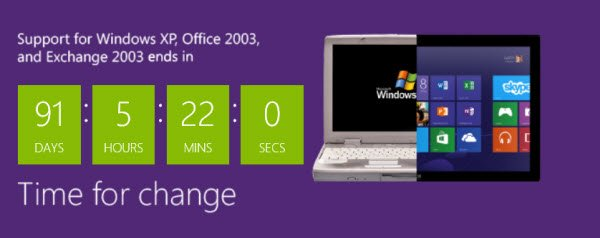 Windows XP End of Support is on April 8th, 2014: Why Windows is ...