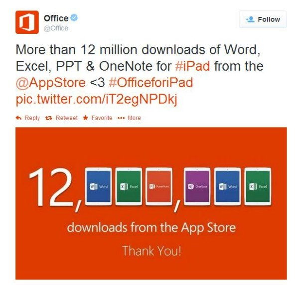 office for ipad suite