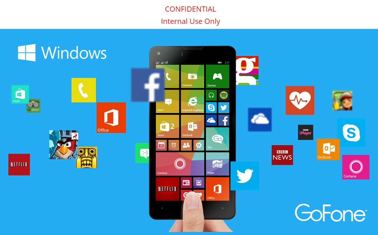 Windows Phone GoFone GFW47