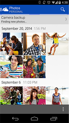 OneDrive app for Android