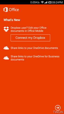 Office mobile for Android