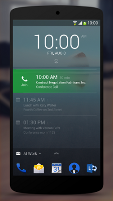 Next Lock Screen App on Android