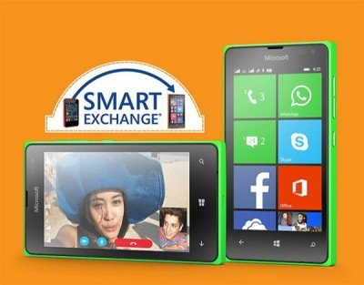 Microsoft Smart Exchange Nokia Asha Lumia 435