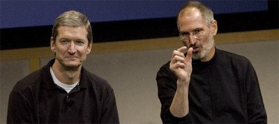 Tim-Cook-and-Steve-Jobs