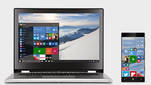 windows 10 phone laptop