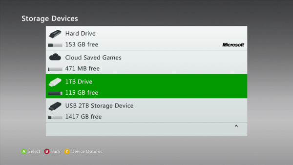 Xbox 360 will support 2TB Hard Drives