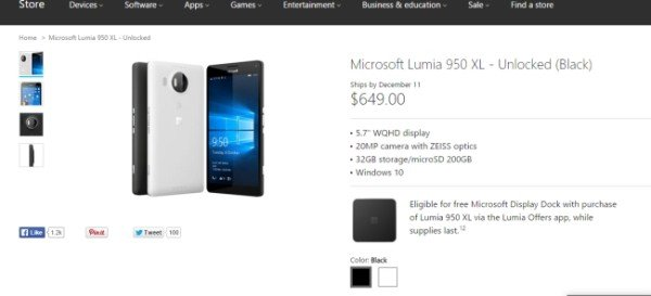 Microsoft_Lumia_950_XL_availability