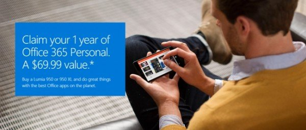 free 1-Year Office 365 personal subscription