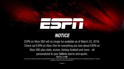 ESPN for Xbox One