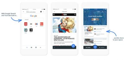Google's new app Spaces