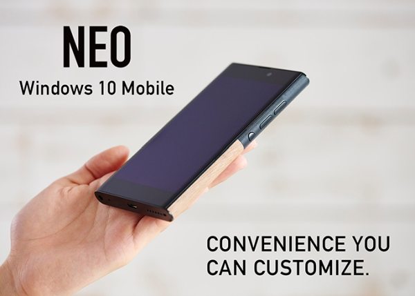 NuAns Neo Windows 10 Mobile
