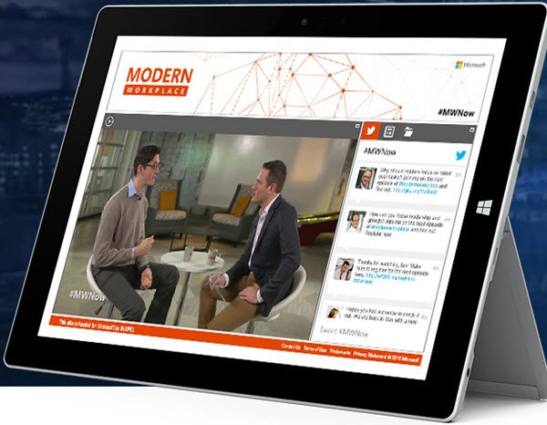 Modern Workplace Webcast