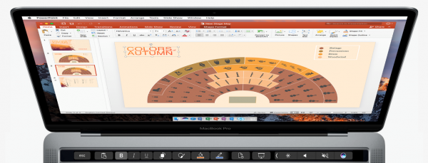 Office for Mac gets Touch Bar support