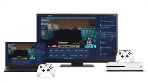 xbox-one Game broadcasting