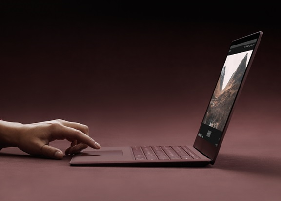 Windows 10 S Surface laptop