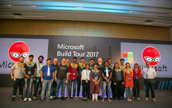 Microsoft Build Tour 2017 India