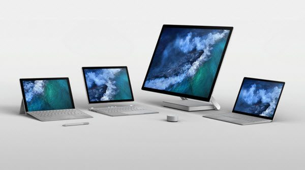 Surface Pro and Surface Laptop