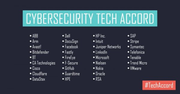 Cybersecurity Tech Accord
