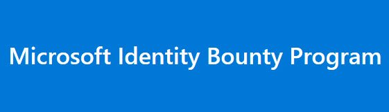 Microsft Identity Bounty Program