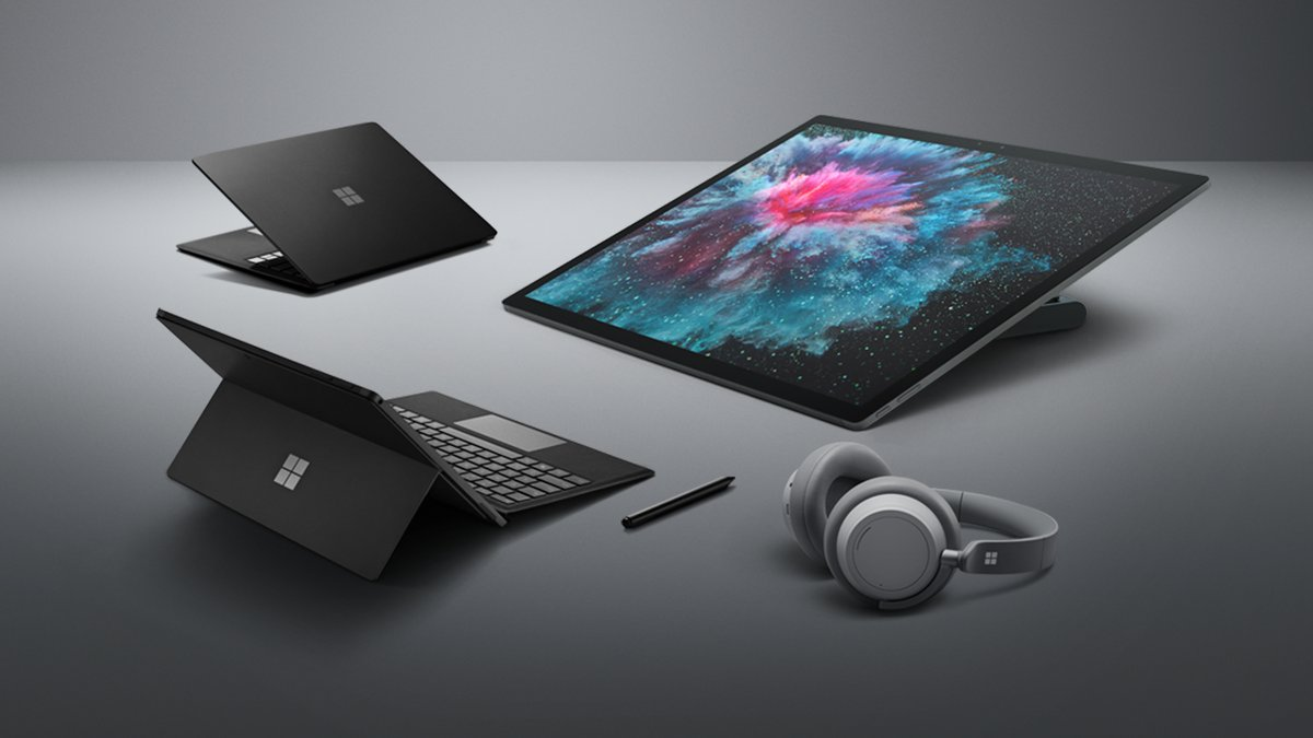 Microsoft launches Surface Pro 6, Surface Laptop 2, Surface Studio 2, Surface Headphones