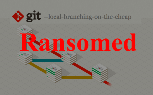 Git repositories wiped out & ransomed