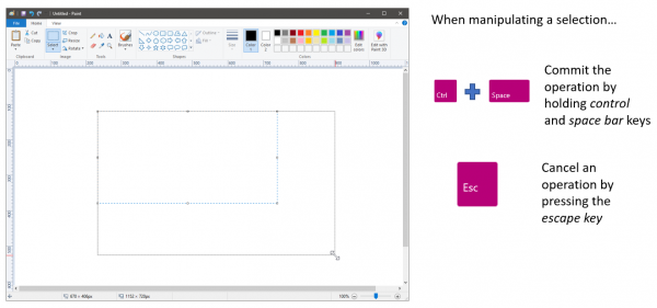 new features to MS Paint