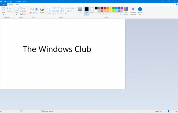 Microsoft Paint is getting an update with Windows 10 v1903