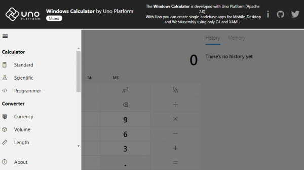 Windows Calculator now available for Android, iOS Web