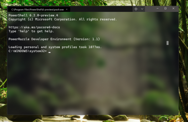 Windows Terminal is available on Microsoft Store