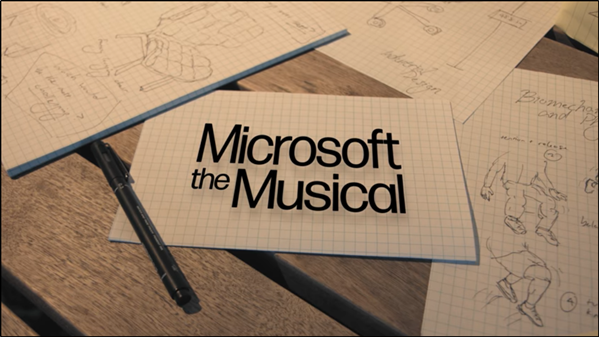 Microsoft The Musical song