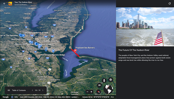 Google Earth now lets you create your own maps and stories