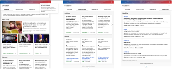Bing 2020 US Elections Experience