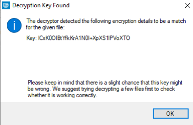 Hakbit Decryption key