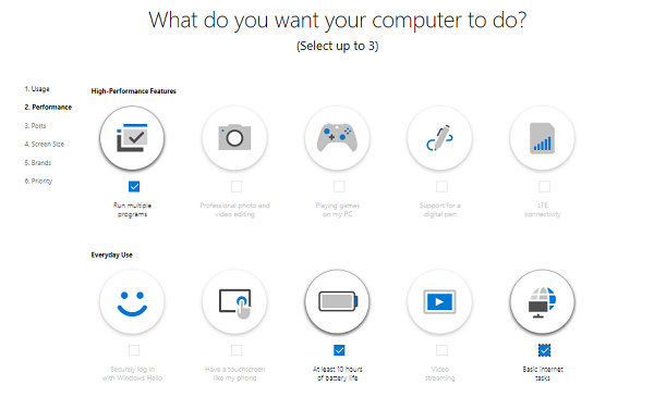 What do you want the computer to do