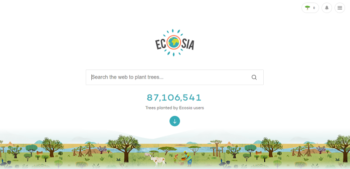 Ecosia Default Search Engine Chrome