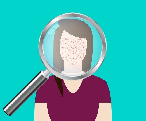 Gender Labels AI Face Recognition