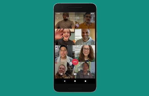 WhatsApp Video Chat