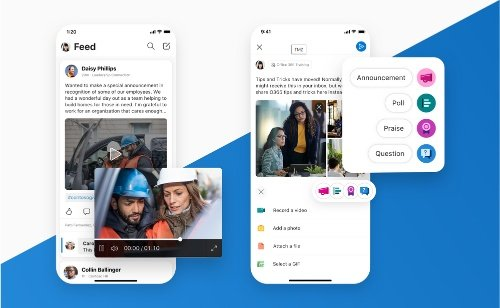 Yammer rolls out new mobile UI/UX