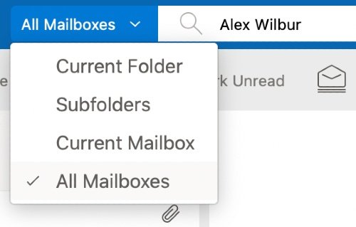 Outlook for Mac Unified Inbox