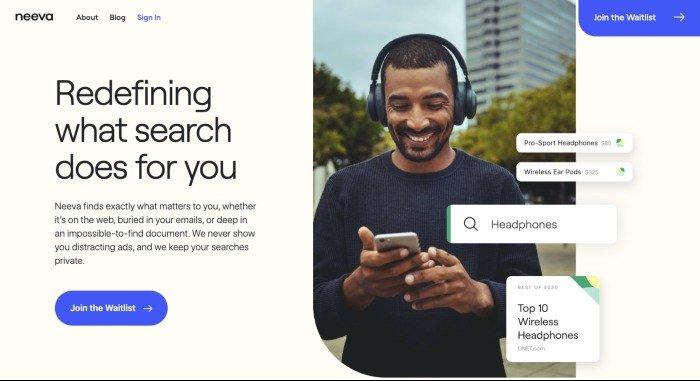 Neeva search engine to rival Google