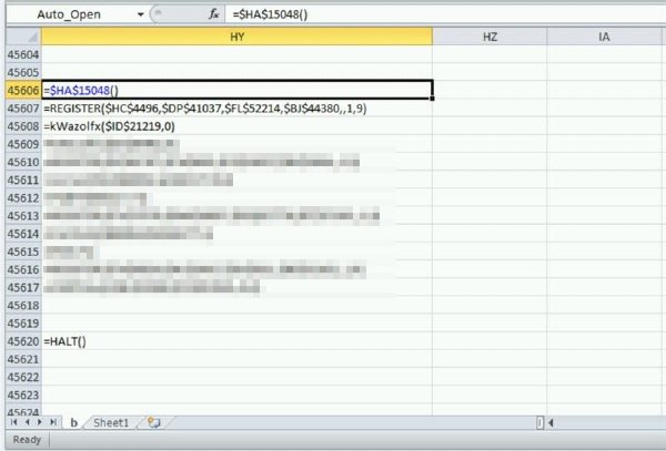 Avaddon Ransomware excel